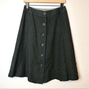 Banana Republic Button Front Skirt